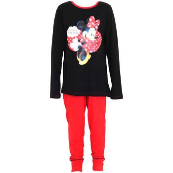textil Pige Pyjamas / Natskjorte Disney  Black/Red