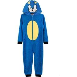 textil Dreng Pyjamas / Natskjorte Sonic The Hedgehog  Blue
