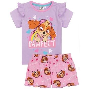 textil Pige Pyjamas / Natskjorte Paw Patrol  Purple/Pink