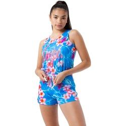 textil Pige Buksedragter / Overalls Hype  Blue/Pink