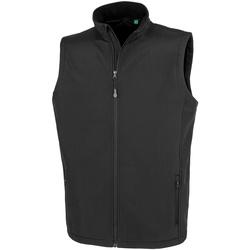 textil Herre Veste / Cardigans Result Genuine Recycled RS902M Black