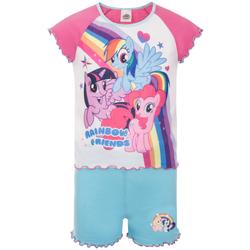textil Pige Pyjamas / Natskjorte My Little Pony  Pink/Blue