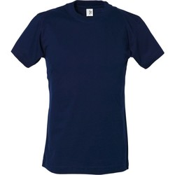textil Dreng T-shirts m. korte ærmer Tee Jays TJ1100B Navy Blue