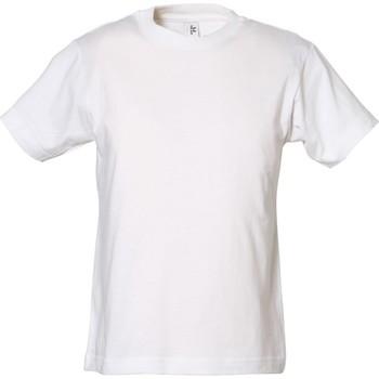 textil Dreng T-shirts m. korte ærmer Tee Jays TJ1100B White