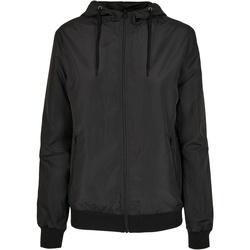 textil Dame Jakker Build Your Brand BY147 Black
