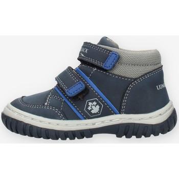 Sko Dreng Høje sneakers Lumberjack SBB8812001N92 Blå