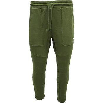 textil Herre Træningsbukser Diadora Cuff Shield Grøn