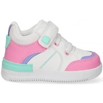 Sko Pige Lave sneakers Bubble 58897 Hvid