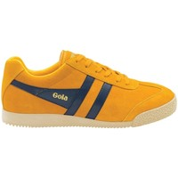 Sko Dame Lave sneakers Gola Classics Harrier Suede Honning