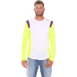 textil Herre Langærmede T-shirts Diadora 102175720 hvid