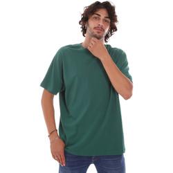 textil Herre T-shirts m. korte ærmer Invicta 4451244/U Grøn