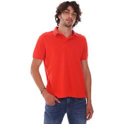 textil Herre Polo-t-shirts m. korte ærmer Invicta 4452241/U Rød