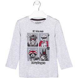 textil Børn Langærmede T-shirts Losan 125-1013AL Grå