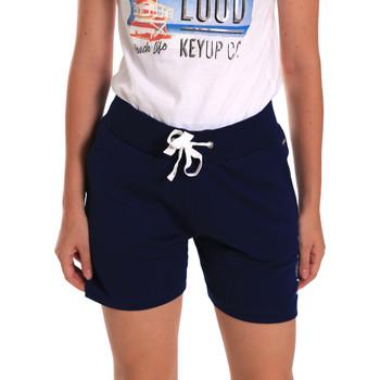 textil Dame Shorts Key Up 5G38L 0001 Blå
