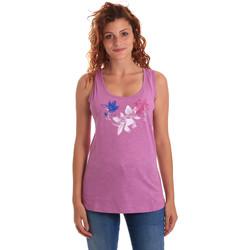 textil Dame Toppe / T-shirts uden ærmer Key Up 5G62S 0001 Violet