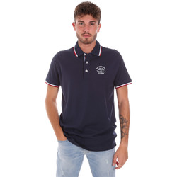 textil Herre Polo-t-shirts m. korte ærmer Key Up 2G89R 0001 Blå