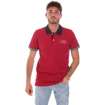 textil Herre Polo-t-shirts m. korte ærmer Key Up 2G94Q 0001 Rød