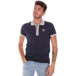 textil Herre Polo-t-shirts m. korte ærmer Key Up 2G87R 0001 Blå