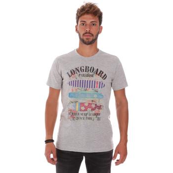 textil Herre T-shirts m. korte ærmer Key Up 2D45S 0001 Grå