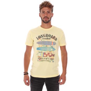 textil Herre T-shirts m. korte ærmer Key Up 2D45S 0001 Gul