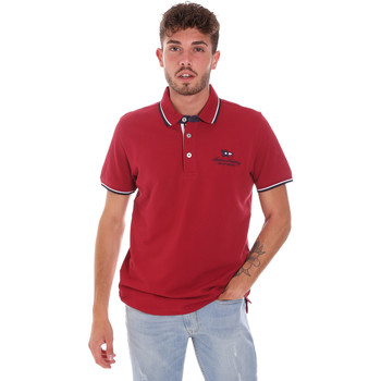textil Herre Polo-t-shirts m. korte ærmer Key Up 2Q60G 0001 Rød