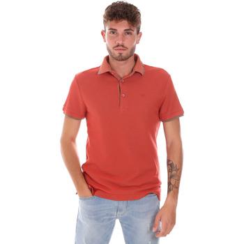 textil Herre Polo-t-shirts m. korte ærmer Gas 310124 Orange