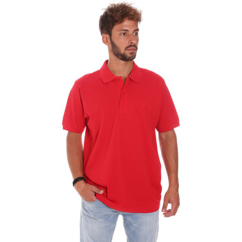 textil Herre Polo-t-shirts m. korte ærmer Key Up 2800Q 0001 Rød