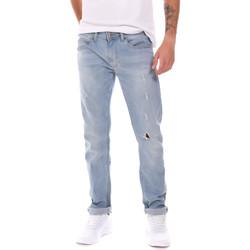 textil Herre Smalle jeans Gaudi 811BU26034L32 Blå
