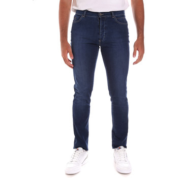 textil Herre Smalle jeans Navigare N651020 Blå
