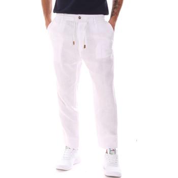 textil Herre Bukser Gaudi 911FU25018 hvid