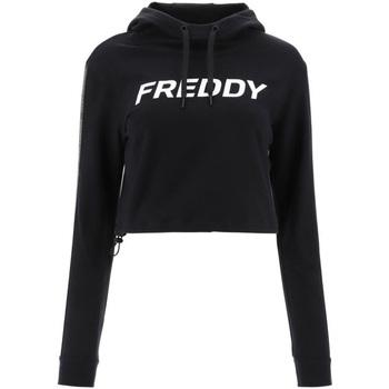 textil Dame Sweatshirts Freddy F1WFTS3 Sort