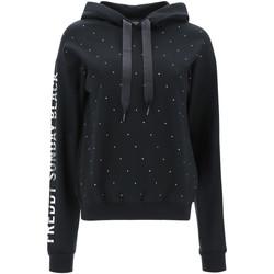 textil Dame Sweatshirts Freddy F1WSDS26C Sort