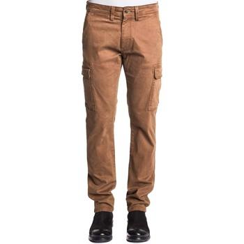 textil Herre Cargo bukser Gaudi 121GU25003 Brun