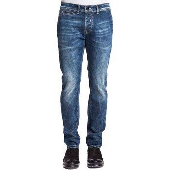 textil Herre Smalle jeans Gaudi 121GU26019 Blå