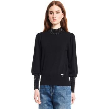 textil Dame Pullovere Gaudi 121BD53009 Sort