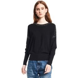 textil Dame Pullovere Gaudi 121BD53010 Sort