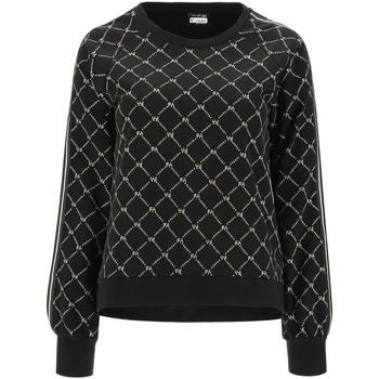textil Dame Sweatshirts Freddy F1WSDS13C Sort
