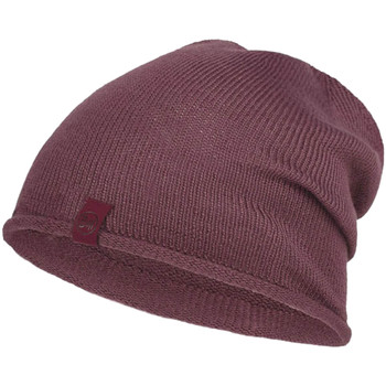 Accessories Dame Huer Buff Lekey Knitted Hat Beanie Pink