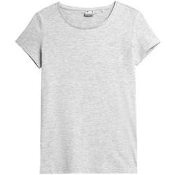 textil Dame T-shirts m. korte ærmer 4F TSD350 Grå