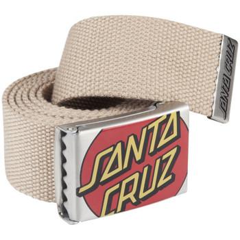 Accessories Herre Bælter Santa Cruz Crop dot belt Beige