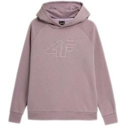 textil Dame Sweatshirts 4F BLD026 Lilla