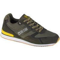 Sko Herre Lave sneakers Big Star Shoes Grøn
