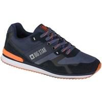 Sko Herre Lave sneakers Big Star II174210 Sort, Flåde