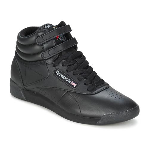 Sko Dame Lave sneakers Reebok Classic FREESTYLE HI Sort