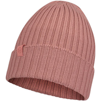 Accessories Dame Huer Buff Norval Merino Hat Beanie Pink