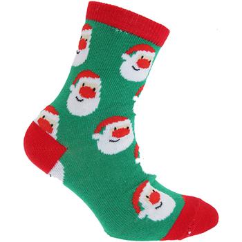 Accessories Børn Strømper Floso  Green Santa