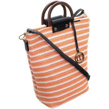 Tasker Dame Håndtasker m. kort hank Monnari 68000 Hvid, Orange
