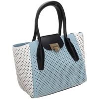 Tasker Dame Håndtasker m. kort hank Monnari BAG2260012 Hvid, Azurblå