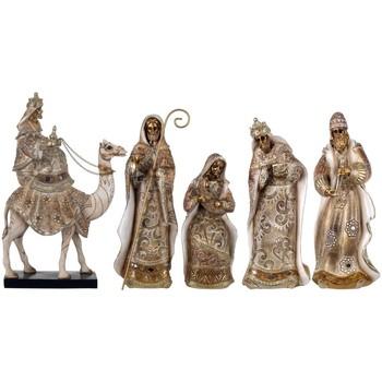 Indretning Julepynt Signes Grimalt Jesus Fødsel 5 Enheder Dorado