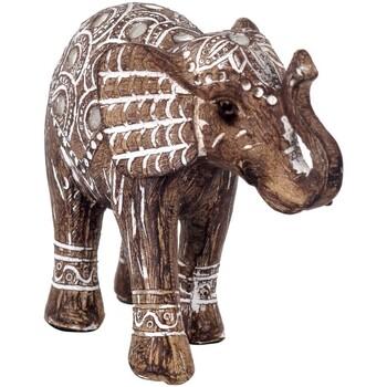 Indretning Små statuer og figurer Signes Grimalt Elefantfigur Marrón
